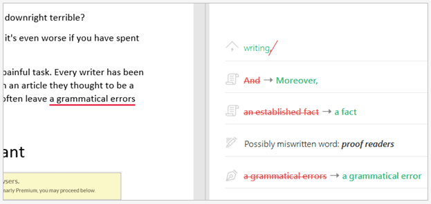 Grammarly Grammar